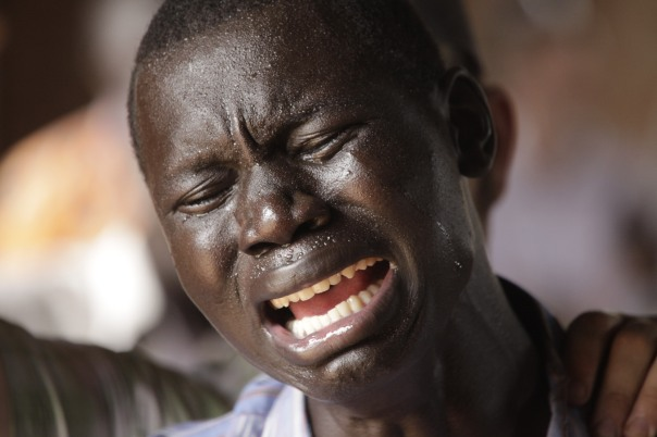 A pastor in South Sudan, broken in spirit as he prays that the man he professes to be would be the man others see.