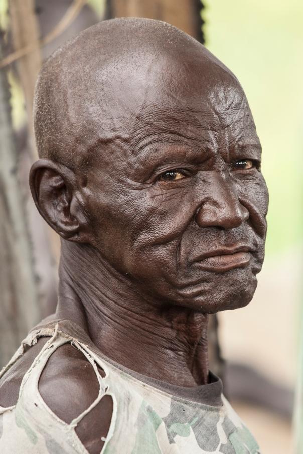 A South Sudanese man.