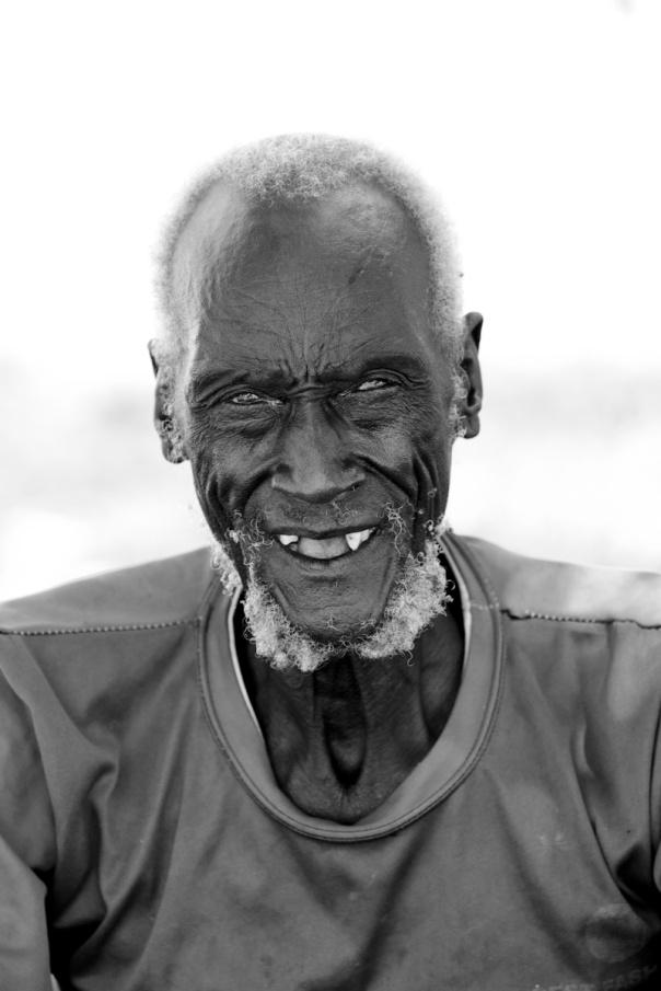 A South Sudanese Dinka.