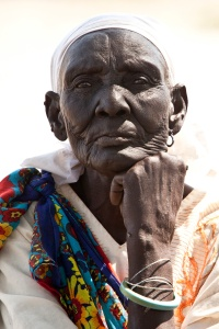 Old Woman in South Sudan