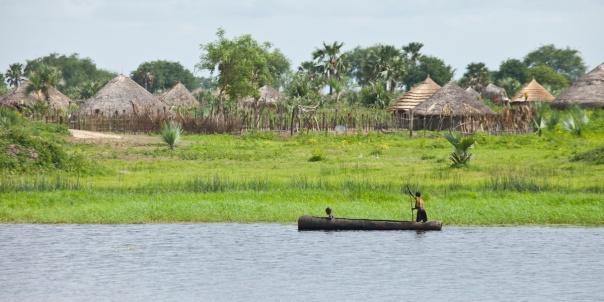 The beautiful village of Panwel, South Sudan
