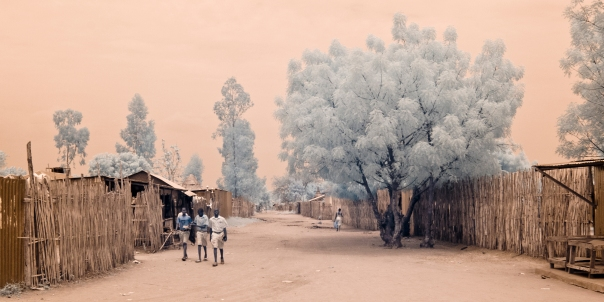Infrared photography taken in Torit, South Sudan