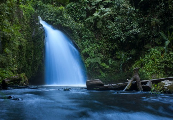 Waterfall on Mount Kenya
