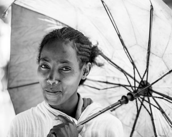 Beautiful smile in Ethiopia.