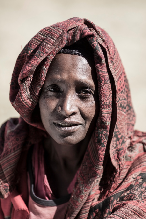 A woman in Ethiopia