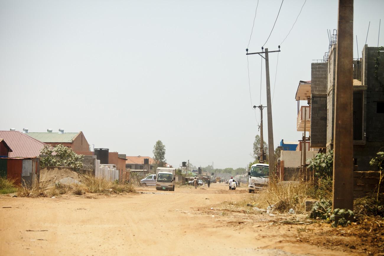 street scene in Juba, capital of South Sudan