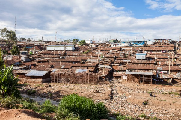 An overview of Kibera.