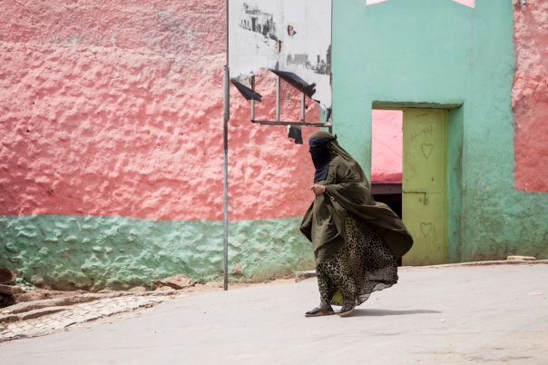 This picture for me sums up what Harar, Ethiopia looks and feels like.