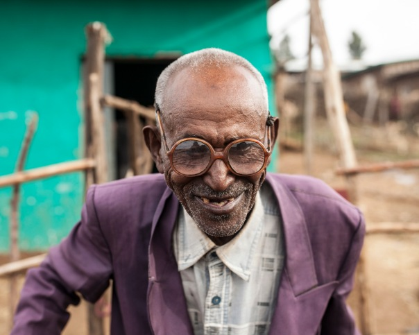 How can you not love this elderly man from Ethiopia?