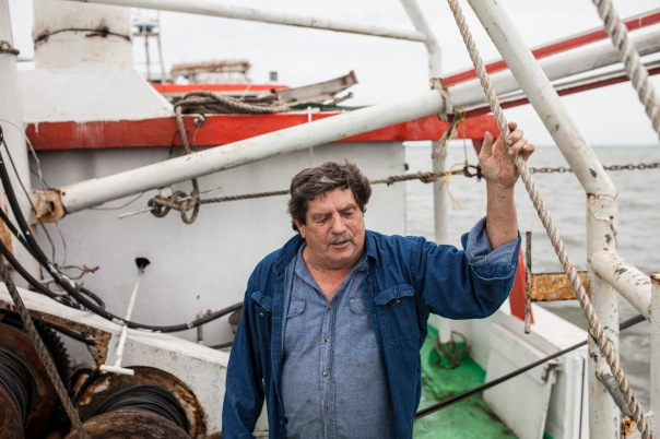 The captain of the fishing vessel I was shooting on this fall.