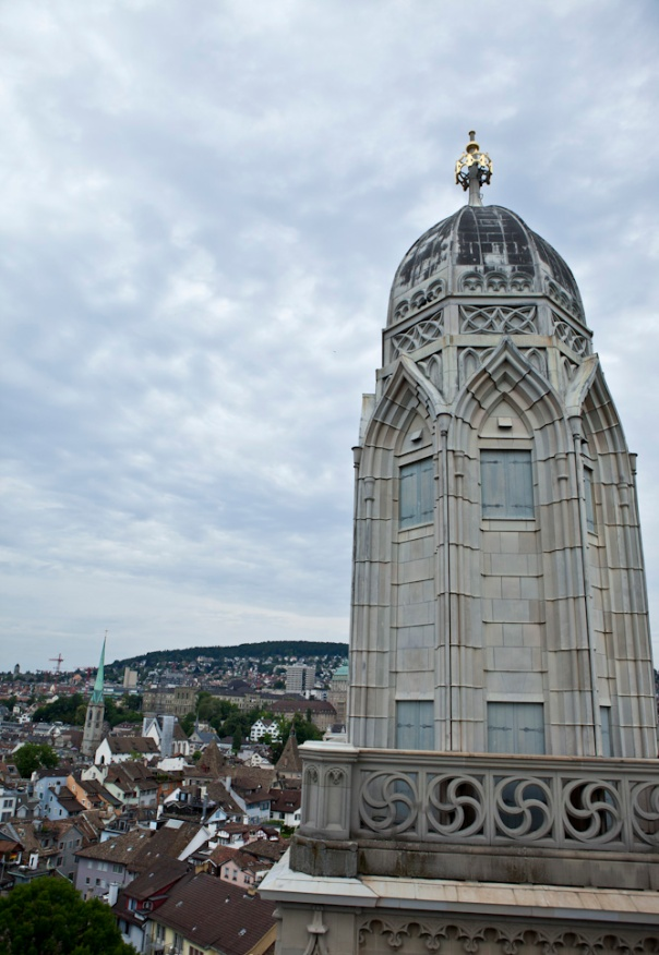Grossmünster in Zurich took 120 years to complete. They were on the right track.